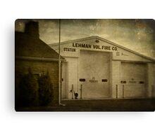 Lehman Vol. Fire Co. Canvas Print