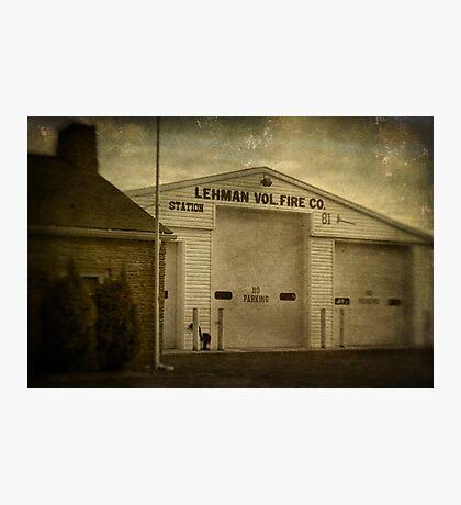 Lehman Vol. Fire Co. Photographic Print