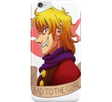Dio - Bad to the core iPhone Case/Skin