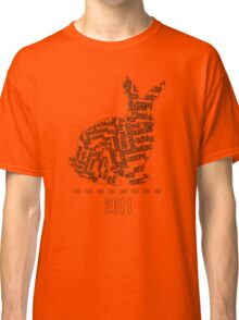 2011 Year of the Rabbit Classic T-Shirt