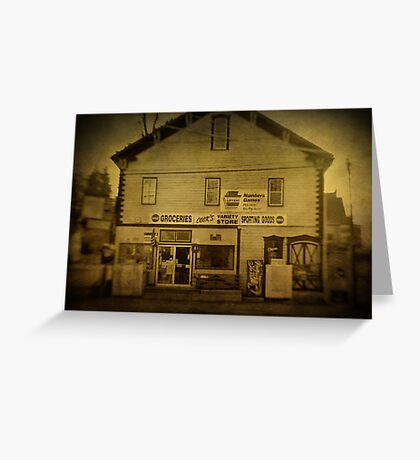 Cook's Variety Store Greeting Card