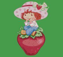 Strawbery Girl Kids Tee