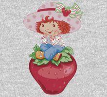 Strawbery Girl One Piece - Long Sleeve