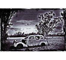 Elderly Car not going far. Photographic Print