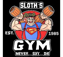 Funny Gym Sloth The Goonies Fitness Photographic Print
