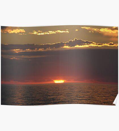 Awe Inspiring Sunrise Poster