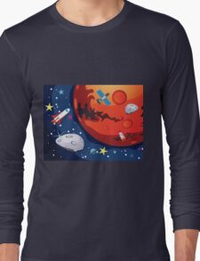 Mars Planet 2 Long Sleeve T-Shirt