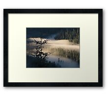 Morning Layer Framed Print
