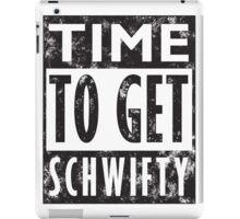 Rick and Morty Get Schwifty Lyrics Print iPad Case/Skin