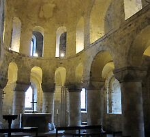 London - Tower of London - Church by Darrell-photos