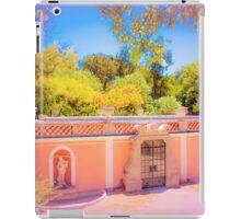 swimming pool on the terrace iPad Case/Skin