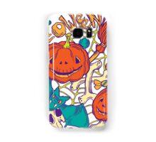 Halloween design with wicth stuff Samsung Galaxy Case/Skin