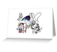 Story Lines - Pinocchio Characters 1 Greeting Card