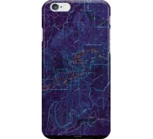 USGS Topo Map Oregon Marial 280640 1998 24000 Inverted iPhone Case/Skin