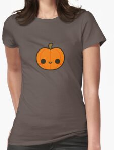 Cute Jack O' Lantern Womens Fitted T-Shirt