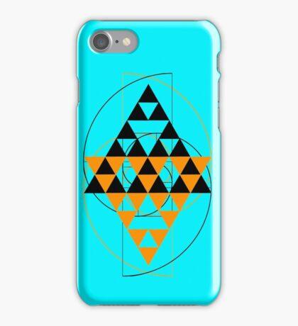 Golden Pyramids O iPhone Case/Skin