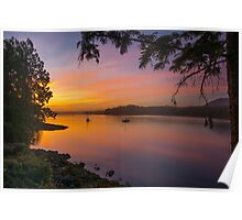 Sunset in Ucluelet Poster