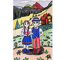 Peter and Heidies Alm Photographic Print