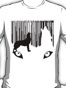 wolf barcode T-Shirt
