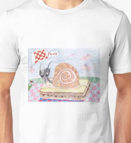 Ant Sally Glides To The Picnic Unisex T-Shirt