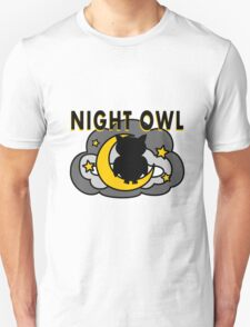 Owl Sitting on the Moon T-Shirt