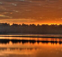 Glow - Narrabeen Lakes, Sydney - The HDR Experience by Philip Johnson