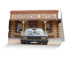 Silverton Hotel, NSW - Mad Max V8 Interceptor Greeting Card