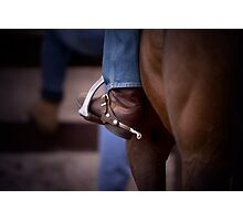 Stockhorse and Spurs Photographic Print