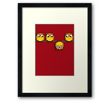 A whole new perspective for the owl Framed Print