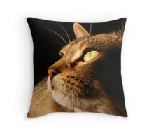 Six in the Morning Throw Pillow