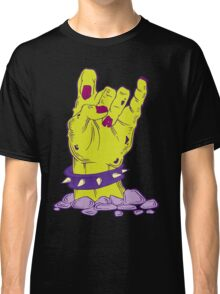 Green zombie hand with bracelet Classic T-Shirt