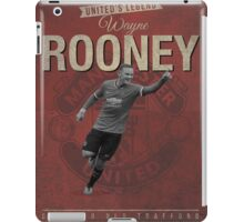 Wayne Rooney Retro Design iPad Case/Skin