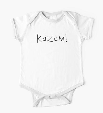 Kazam! (black) One Piece - Short Sleeve