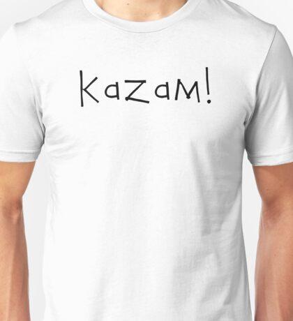 Kazam! (black) Unisex T-Shirt