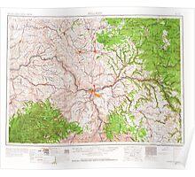 USGS Topo Map Washington Pullman 243312 1955 250000 Poster