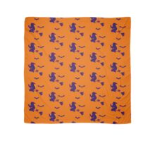 Halloween Witch and Bats Scarf