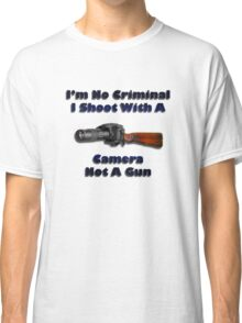 Photographers Rights Classic T-Shirt