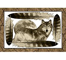Wolf - by Nelson Pawlak © 2015 Photographic Print