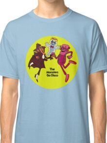 Saturday Morning Disco Dancing Cereal Monsters Classic T-Shirt