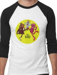 Saturday Morning Disco Dancing Cereal Monsters Men's Baseball ¾ T-Shirt