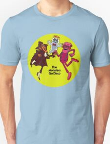 Saturday Morning Disco Dancing Cereal Monsters T-Shirt