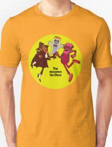 Saturday Morning Disco Dancing Cereal Monsters T-Shirt