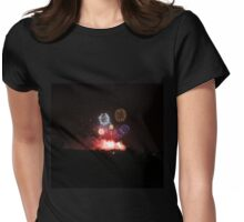 Edinburgh Festival Fireworks - 2 Womens Fitted T-Shirt