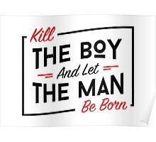 Kill the boy Poster