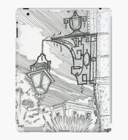 lamp at museu do traje iPad Case/Skin