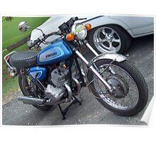 Kawasaki 500 Triple Poster