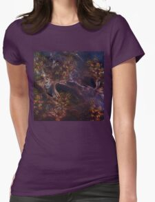 Autumn Whispers Womens Fitted T-Shirt