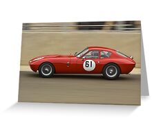 Streamlined Morgan SLR Greeting Card