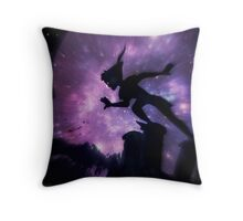 Second Star to the Right and Straight on till Morning Throw Pillow