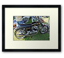 Norton 750 Commando Framed Print